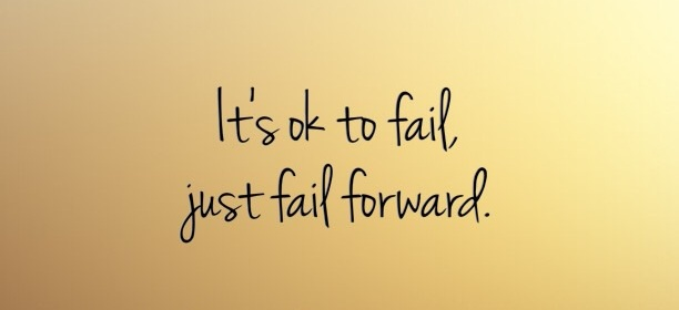 It's ok to fail