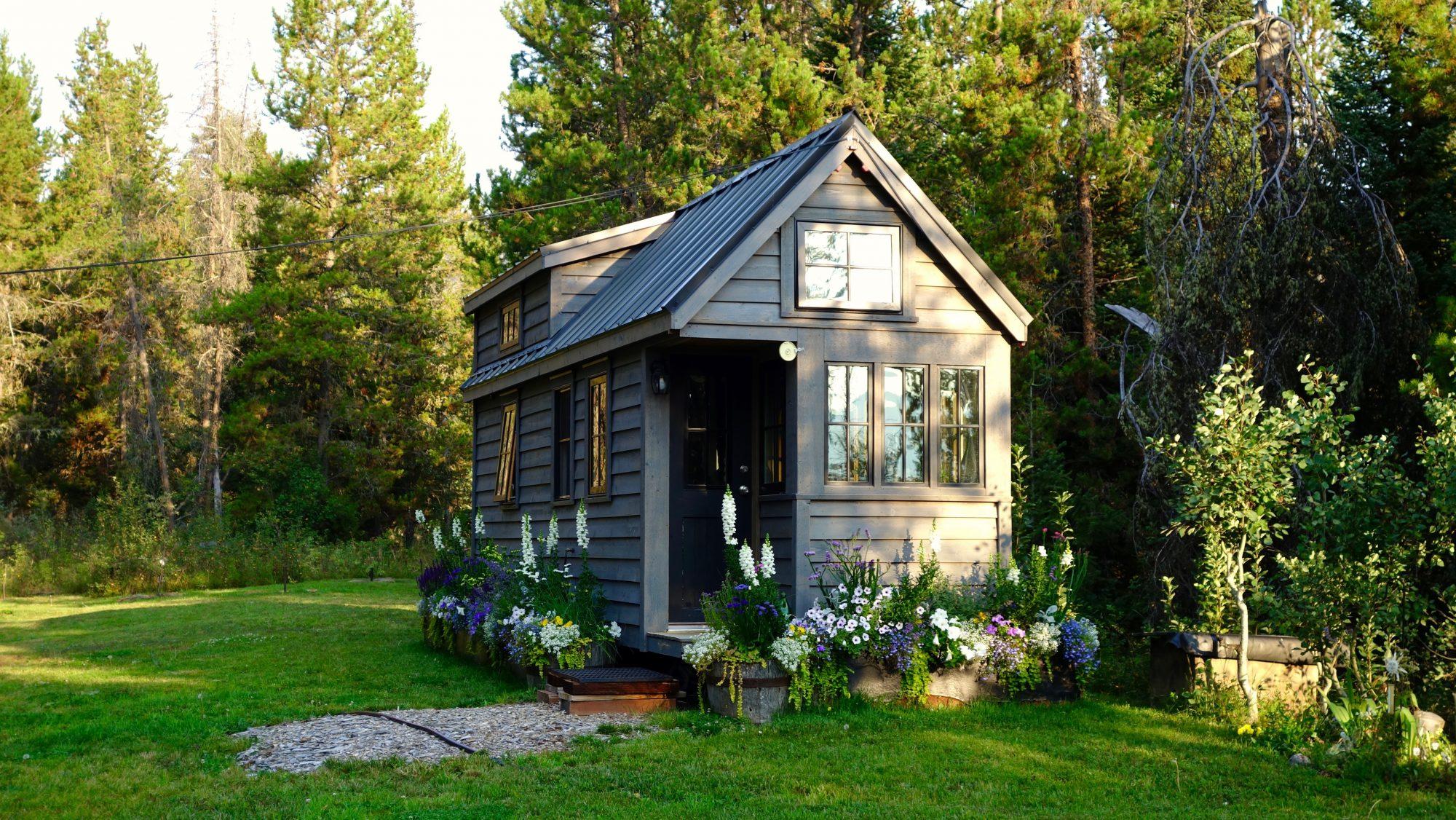 Tiny houses en nieuw bos marjolein in het klein for Tiny house movement nederland